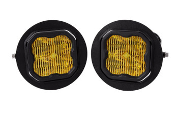 """Diode Dynamics Stage Series 3"""" Max Yellow SAE Fog Type FT Fog Kit (2006-2014 Ford F-150, 2005-2011 Toyota Tacoma, 2007-2013 Toyota Tundra)"""