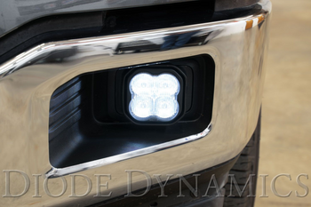 """Diode Dynamics Stage Series 3"""" Max Yellow SAE Fog Type F2 Fog Kit (2015-2020 Ford F-150, 2017-2021 Ford F-250/F-350)"""