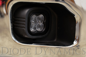 """Diode Dynamics Stage Series 3"""" Pro Yellow SAE Fog Type SD Fog Kit (2011-2016 Ford F-250/F-350)"""