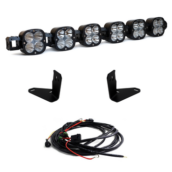 Baja Designs XL Linkable Kit w/6 XL Lights for 2021+ Ford Bronco (Steel Bumper/Toggle Switch)