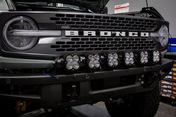 Baja Designs XL Linkable Kit w/6 XL Lights for 2021+ Ford Bronco (Steel Bumper/Upfitter)