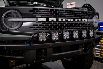 Baja Designs XL Linkable Kit w/6 XL Lights for 2021+ Ford Bronco (Plastic Bumper/Upfitter)