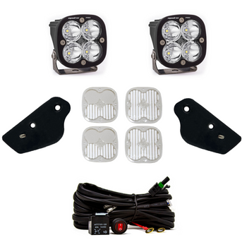 Baja Designs A-Pillar Kit for 2021+ Ford Bronco (Squadron Pro/Toggle Switch)