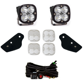 Baja Designs A-Pillar Kit for 2021+ Ford Bronco (Squadron Sport/Toggle Switch)