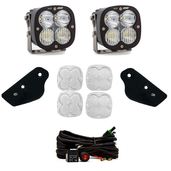 Baja Designs A-Pillar Kit for 2021+ Ford Bronco (XL80/Toggle Switch)