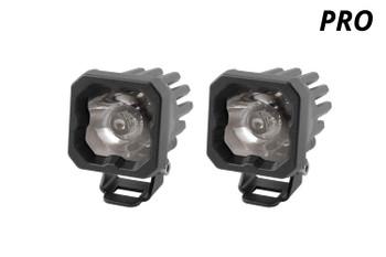 "Diode Dynamics Stage Series 1"" LED Pod Pro White Spot Standard White Backlight"