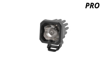 "Diode Dynamics Stage Series 1"" LED Pod Pro White Spot Standard Blue Backlight (Single)"