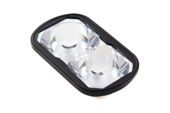 Diode Dynamics Clear Lens (Single) for SSC2 Pods (SAE Driving)