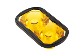 Diode Dynamics Yellow Lens (Single) for SSC2 Pods (SAE Fog)