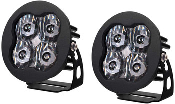 """Diode Dynamics Stage Series 3"""" Pro White SAE Driving Round (Pair)"""