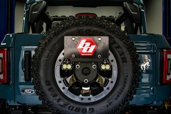 Baja Designs Reverse Kit for 2021+ Ford Bronco (Dual S1 w/Upfitter & License Plate Mount)