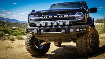 Baja Designs Fog Pocket Kit for 2021+ Ford Bronco (Modular Bumper)