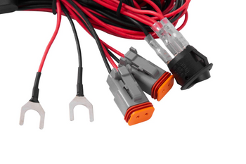 Diode Dynamics Light Duty Dual Output 2-Pin Wiring Harness (6A Max)