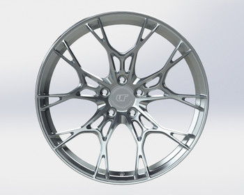 VR Forged D01 Wheel Brushed 20x9.5 +38mm 5x120