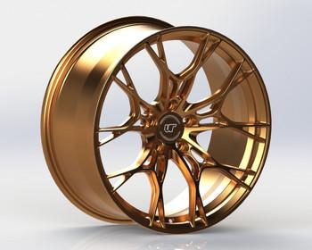 VR Forged D01 Wheel Satin Bronze 21x12.5 +58mm 5x120