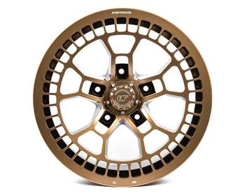 VR Forged D02 Wheel Satin Bronze  18x9 +12mm  5x150