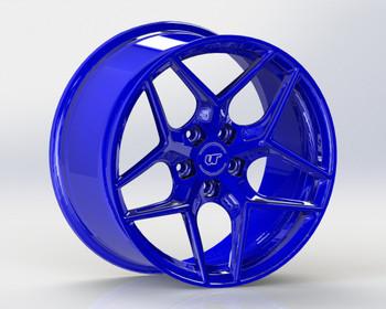 VR Forged D04 Wheel Dark Blue 18x9.5 +40mm 5x114.3