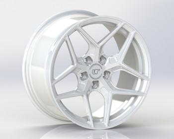VR Forged D04 Wheel Gloss White 18x9.5 +40mm 5x114.3