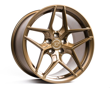 VR Forged D04 Wheel Satin Bronze 18x9.5 +40mm 5x114.3