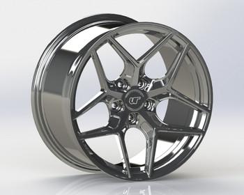 VR Forged D04 Wheel Hyper Black 19x9.5 +27mm 5x120