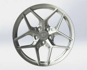 VR Forged D04 Wheel Brushed 20x9 +45mm 5x130