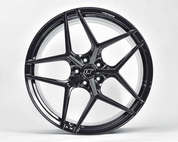 VR Forged D04 Wheel Matte Black 20x9 +45mm 5x130