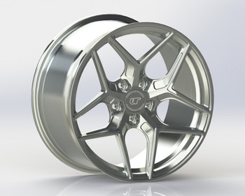 VR Forged D04 Wheel Brushed 21x11.5 +58mm 5x130