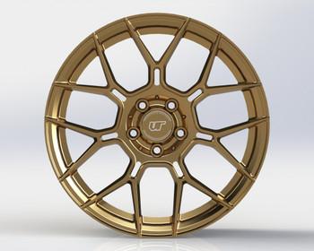 VR Forged D09 Wheel Satin Bronze 18x9.5 +40mm 5x114.3