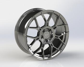 VR Forged D09 Wheel Hyper Black 18x9.5 +45mm 5x120