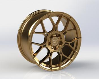 VR Forged D09 Wheel Satin Bronze 18x9.5 +45mm 5x120