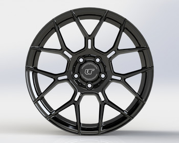 VR Forged D09 Wheel Gloss Black 19x9.5 +40mm 5x112