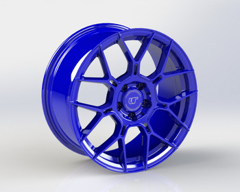 VR Forged D09 Wheel Dark Blue 20x10 +30mm 5x114.3
