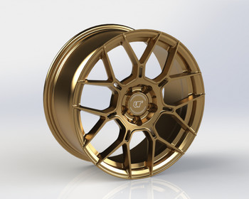 VR Forged D09 Wheel Satin Bronze 20x10 +30mm 5x114.3