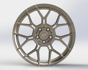 VR Forged D09 Wheel Gunmetal 20x12 +25mm 5x114.3
