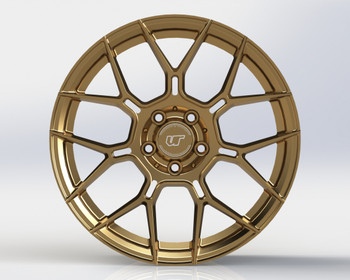 VR Forged D09 Wheel Satin Bronze 20x9.5 +20mm 5x120