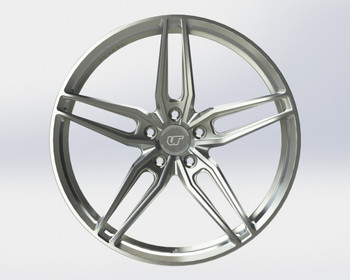 VR Forged D10 Wheel Brushed 20x12 +25mm 5x114.3