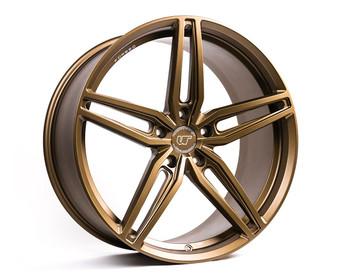 VR Forged D10 Wheel Satin Bronze 20x12 +25mm 5x114.3