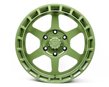 VR Forged D14 Wheel Satin Army Green 17x8.5 -8mm 6x139.7