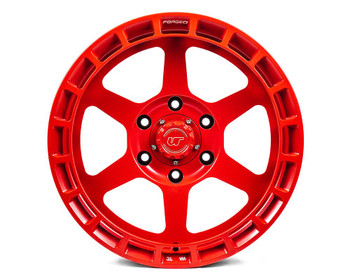 VR Forged D14 Wheel Satin Red 17x8.5 -8mm 6x139.7