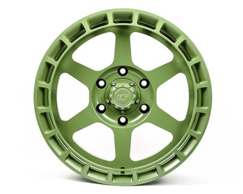 VR Forged D14 Wheel Package Toyota Tacoma | 4Runner 17x8.5 Satin Army Green