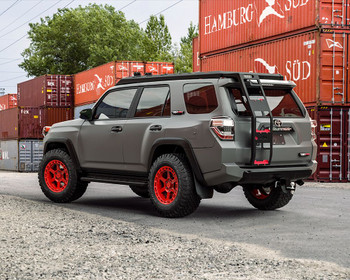 VR Forged D14 Wheel Package Toyota Tacoma | 4Runner 17x8.5 Satin Red