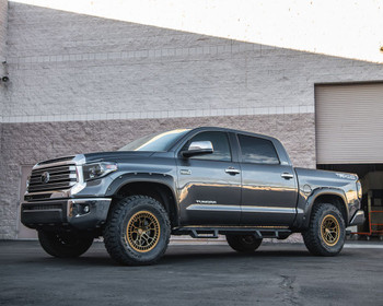 VR Forged D02 Wheel Package Toyota Tundra | Land Cruiser 18x9 Satin Bronze
