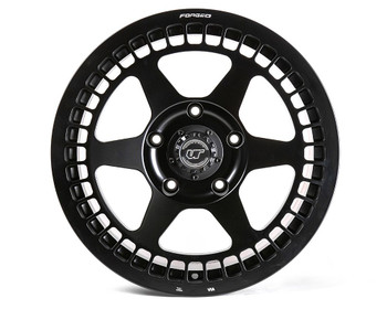VR Forged D07 Wheel Package Toyota Tundra | Land Cruiser 18x9 Matte Black