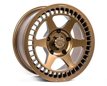 VR Forged D07 Wheel Package Toyota Tundra | Land Cruiser 18x9 Satin Bronze