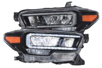 GTR Lighting Carbide LED Headlights for 2016+ Toyota Tacoma