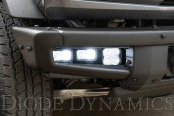 Diode Dynamics Fog Pocket Bracket Kit for 2021 Ford Bronco (Pair)