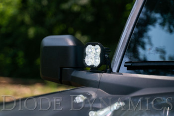 Diode Dynamics SS3 LED Ditch Light Kit for 2021 Ford Bronco, Pro Yellow Combo