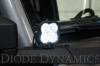 Diode Dynamics SS3 LED Ditch Light Kit for 2021 Ford Bronco, Sport Yellow Combo