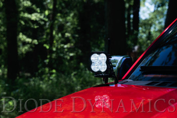 Diode Dynamics SS3 LED Ditch Light Kit for 15-20 Ford F-150/Raptor Pro Yellow Driving