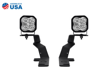 Diode Dynamics SS3 LED Ditch Light Kit for 15-20 Ford F-150/Raptor Pro White Driving